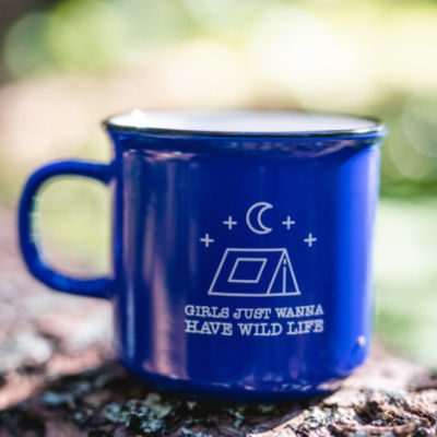 GIRLS JUST WANNA HAVE WILD LIFE MUG Thumbnail